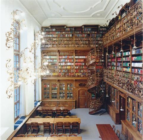 Höfer München juristische bibliothek münchen ii by candida höfer on artnet