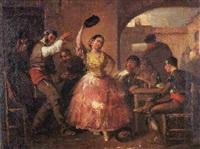 baile en un mesón by manuel rodriguez de guzman