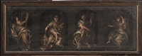 quattro figure femminili allegoriche by italian school-genoa (18)