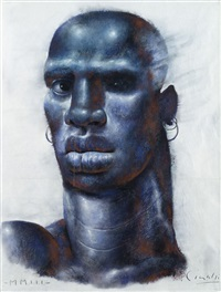 blue travellers by ricardo cinalli