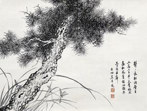 松树 by qi gong
