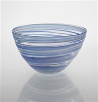 pennellate' bowl, model no. 3766 by carlo scarpa