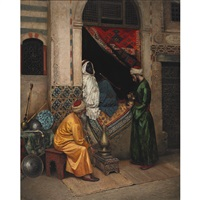 the carpet merchant by rudolf weisse