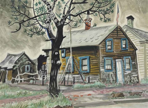 patriots house by charles ephraim burchfield