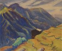 mountain landscape by margaret jordan patterson