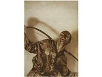 retrato de yureck shabelewski, bailarin de los ballets rusos, barcelona by ramón batlles