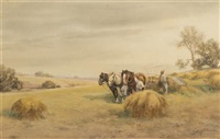 harvesting hay by frank f. english