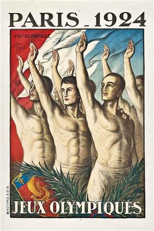 paris jeux olympiques by jean droit