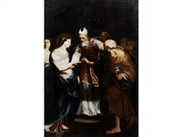 the marriage of the virgin by carlo maratta