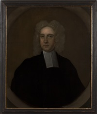 portrait of a clergyman by john smibert