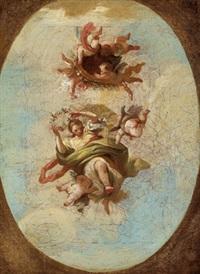 allegorie des frühlings by daniel gran