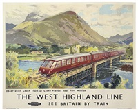 the west highland line by jack merriott