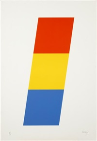 red orange/yellow/blue by ellsworth kelly