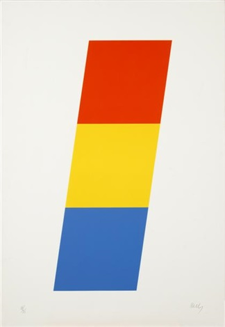red orangeyellowblue by ellsworth kelly