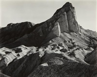 manly beacon from golden canyon, death valley by edward weston