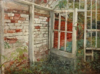 The greenhouse, 1955