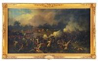 le général espinasse au combat de marcallo, lors de bataille de magenta by jules rigo
