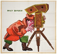 billy bitzer by red grooms