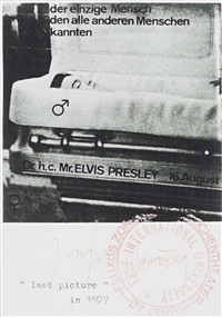 elvis presley (last picture) by joseph beuys