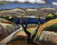 paysage de cassis by louis audibert