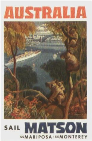 australia sail matson by louis macouillard