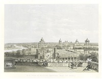 general views & special points of interest of the city of lucknow (bk w/27 works, folio) by d. s. (col.) dodgson