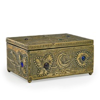 fine art nouveau box by alfred-louis-achille daguet