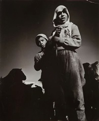 bergers d'israël, israël by robert capa