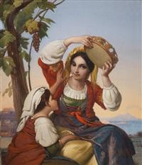 das tamburin, im hintergrund der vesuv by anonymous-italian (19)