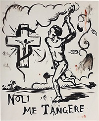 untitled (noli me tangere) by manuel ocampo