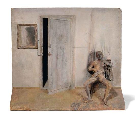 mujer quemada burnt woman by antonio lópez garcía