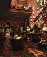 the connoisseur's grand entryway by j. pratt
