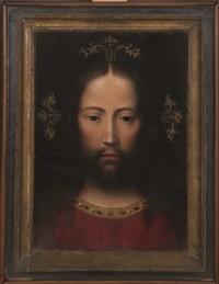 jesucristo como salvador del mundo by adriaen isenbrant