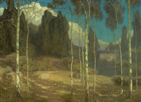 The Silence of Night (Laguna Canyon), 1910