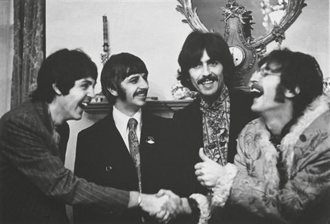 The Beatles At Launch Of Sgt Pepper 1967