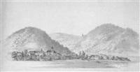 steiermark, wallfahrtsort m. lankowitz mit dem kapuziner kloster by franz emphinger