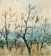 trees by the water by tessa perceval
