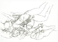 orgiastic scene by frans de geetere
