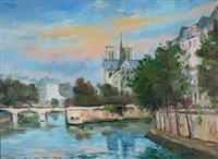notre dame by jean quemere