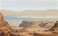 arriving at the lake by silvio poma