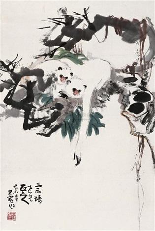 apes by liu dan