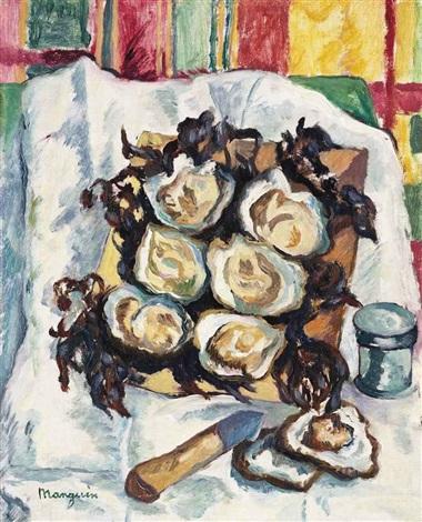 les huîtres de belon by henri charles manguin