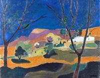landscape by avraham azmon