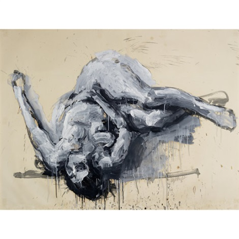 figure study ii by john graham coughtry