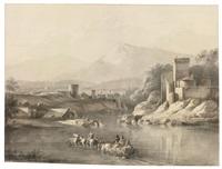 river landscape by jean-jacques de boissieu