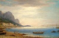 marina grande auf capri by carl morgenstern