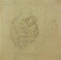 madonna con il bambino e studio per la stessa composizione by andrea appiani