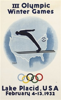 iii winter olympic games, lake placid, usa by witold gordon