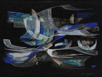 composition abstraie by pierre de berroeta
