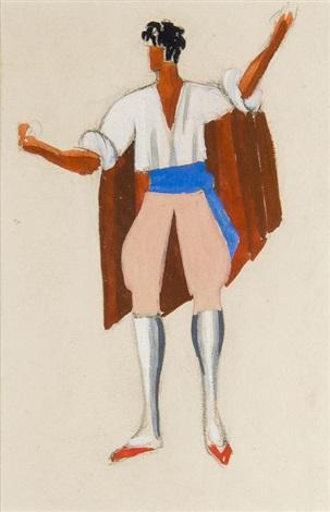 projet de costume by alexandra exter